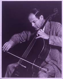 Herman Phaff with cello