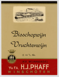 Phaff Winery in Winschoten